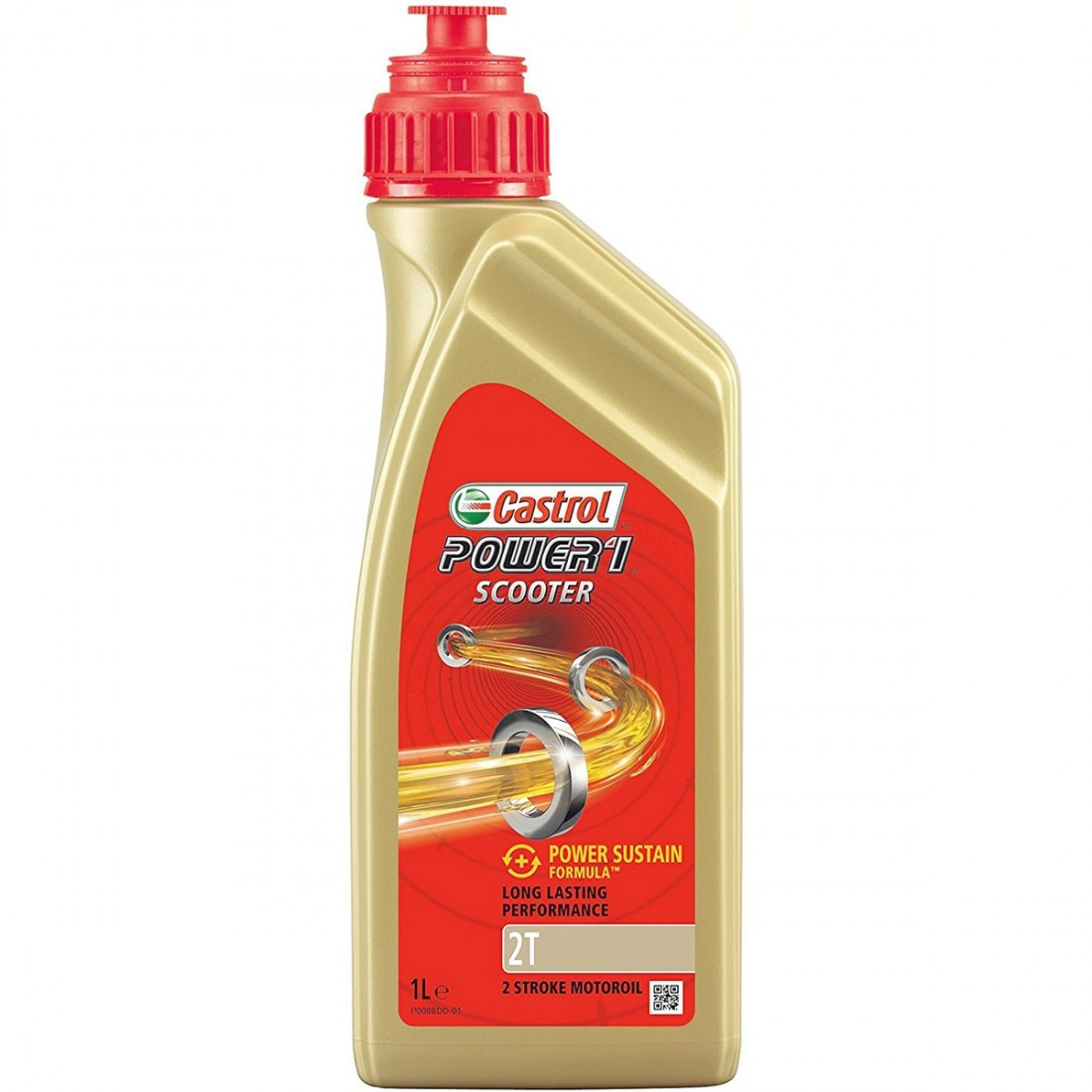 Aceite Castrol Power 1 Scooter 2T 1L