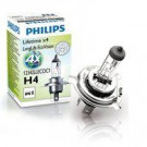 Lámpara Philips H4 12V 60/55W LongLife Eco Vision