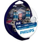 Pack 2 lámparas Philips H4 12V 60/55W Racing Vision