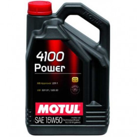 Aceite MOTUL 4100 Power 15W50 5L