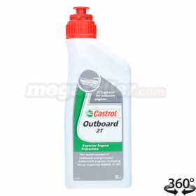 Aceite Castrol Outboard 2T 1L