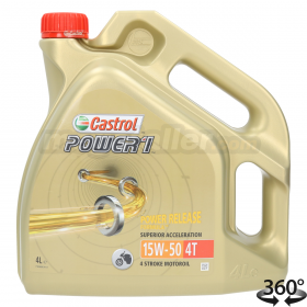 Aceite Castrol Power 1 4T 15W50 4L