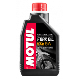Aceite MOTUL Fork Oil Factory Line Light 5W 1L