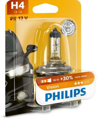 Lámpara Philips H4 12V 60/55W Vision